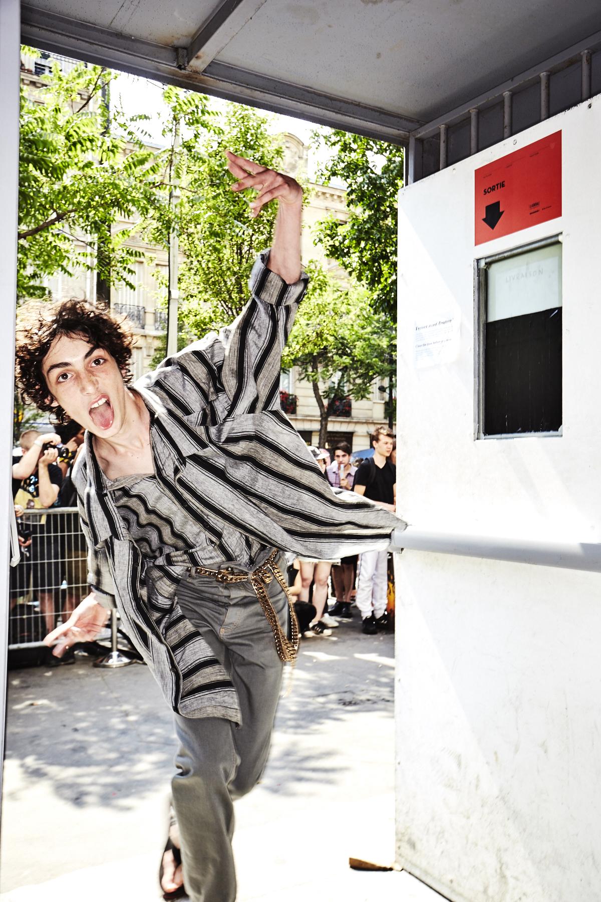 Y/Project by Glenn Martens SS18 Men Fashion Show Paris Backstage
