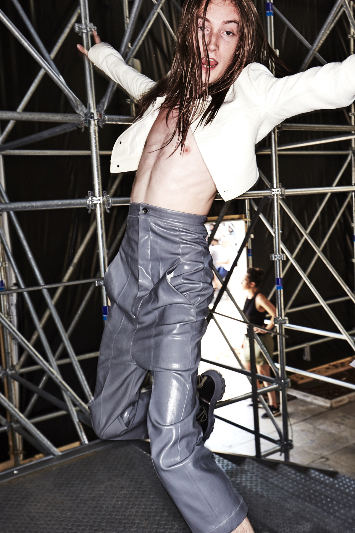 Rick Owens SS18 Men Fashion Show Paris Backstage