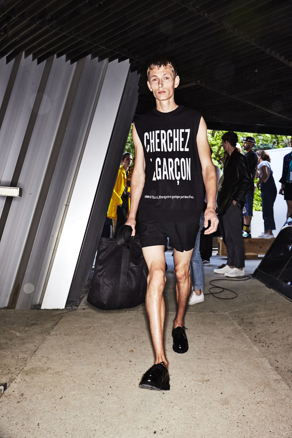 Etudes SS18 Men Fashion Show Paris Backstage