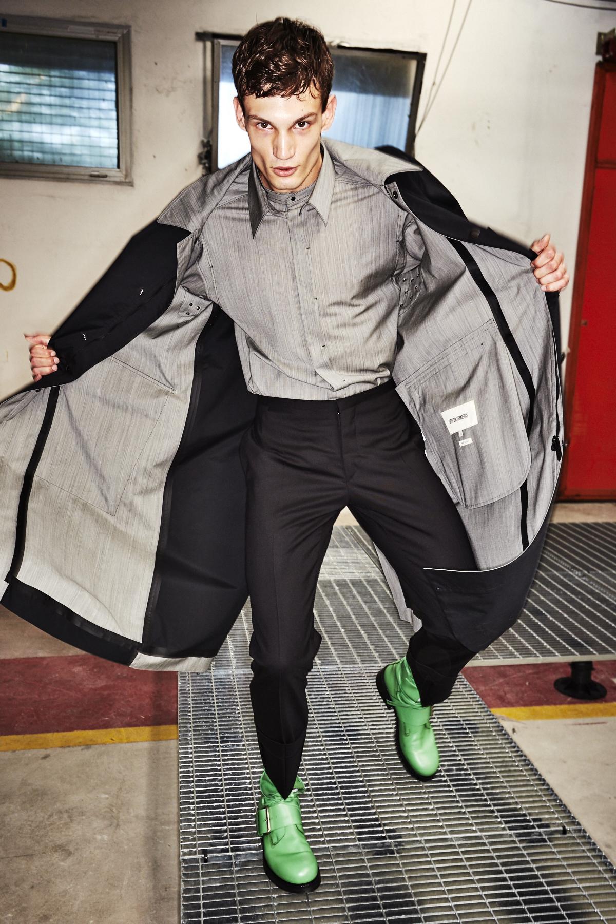 Dirk Bikkembergs SS18 Men Fashion Show Milan Backstage