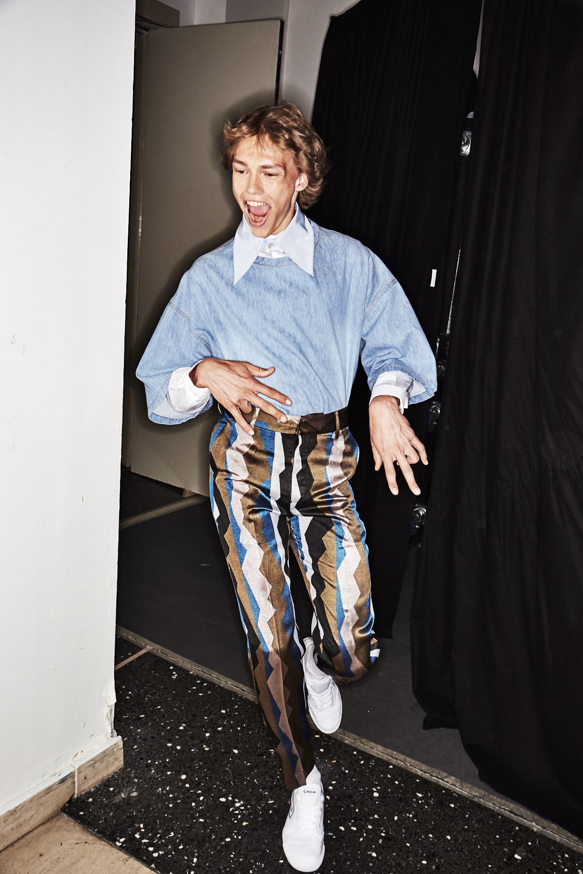Sonny Vandevelde - Sean Suen SS18 Men Fashion Show Paris