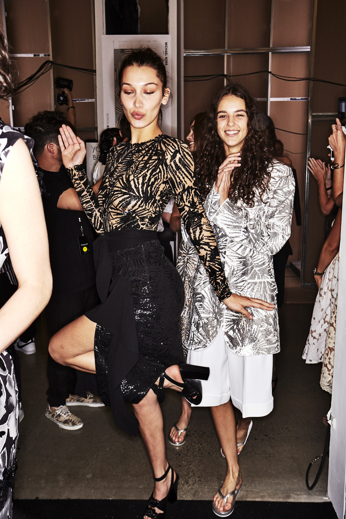 Michael Kors SS18 Fashion Show New York Backstage