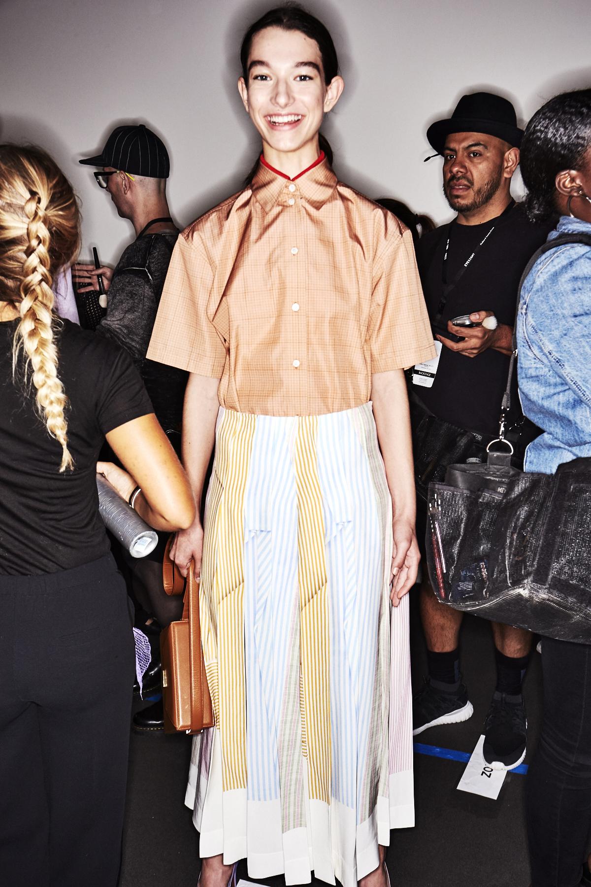 Victoria Beckham SS18 New York Fashion Show Backstage