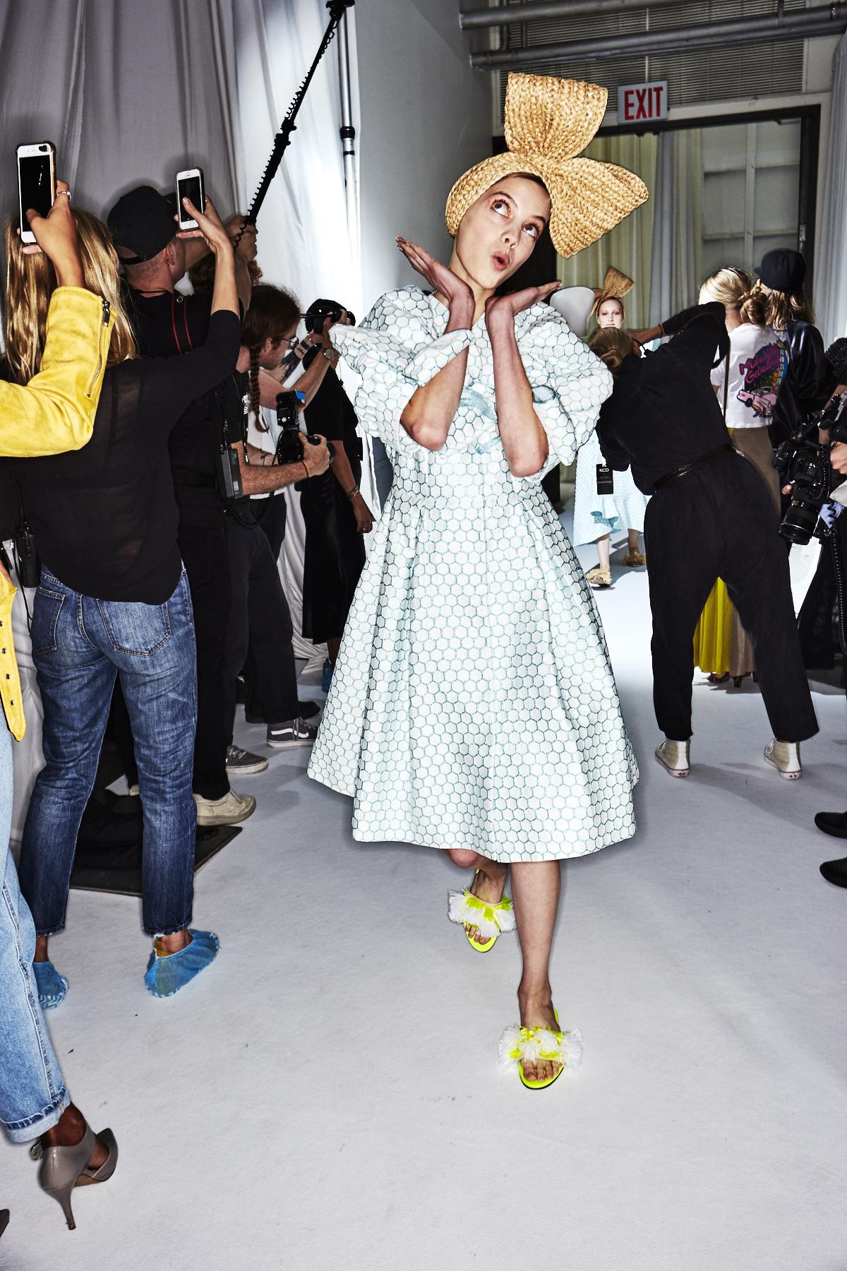 Delpozo SS18 New York Fashion Show Backstage