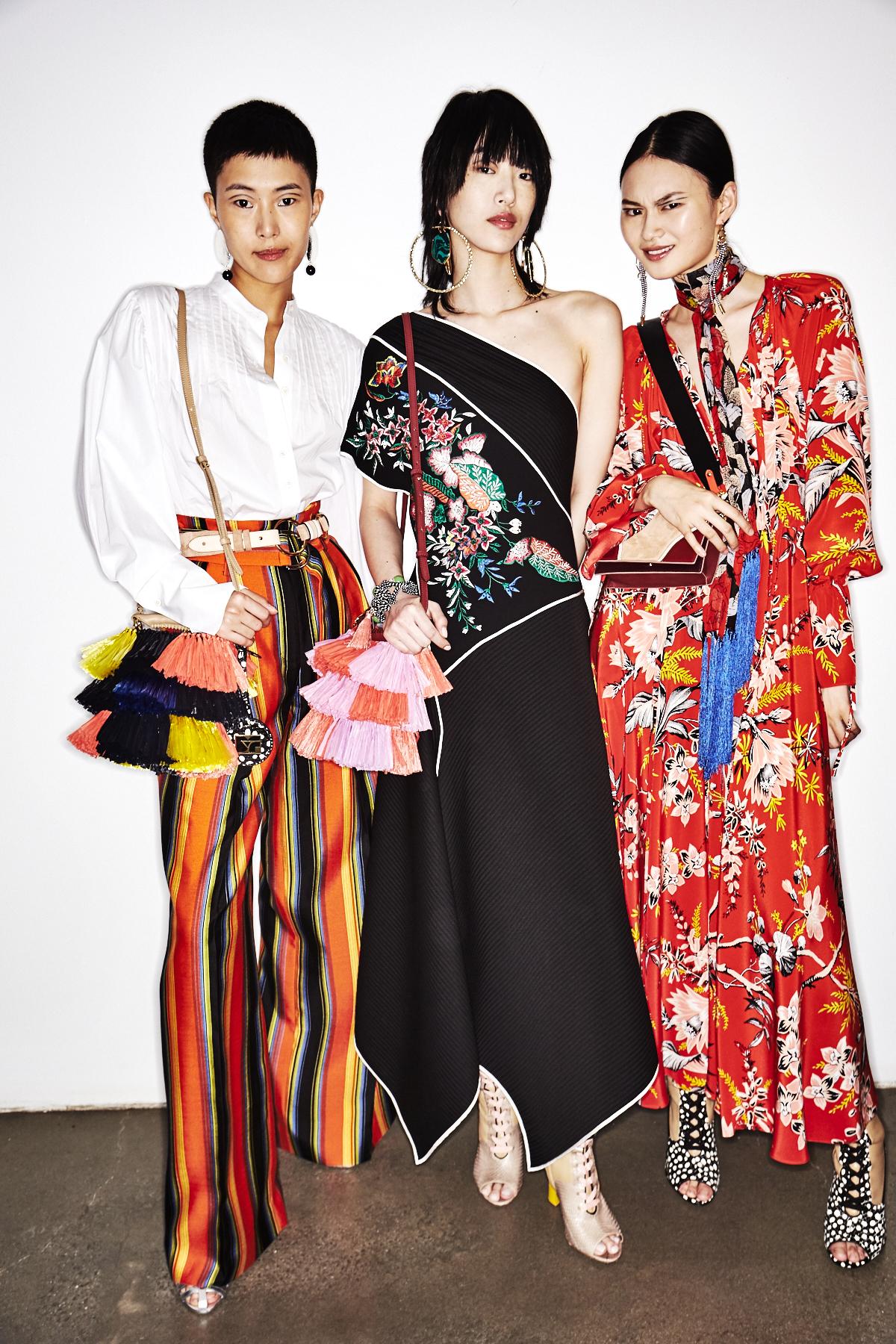 Diane Von Furstenberg By Jonathan Saunders SS18 Fashion Show New York Backstage