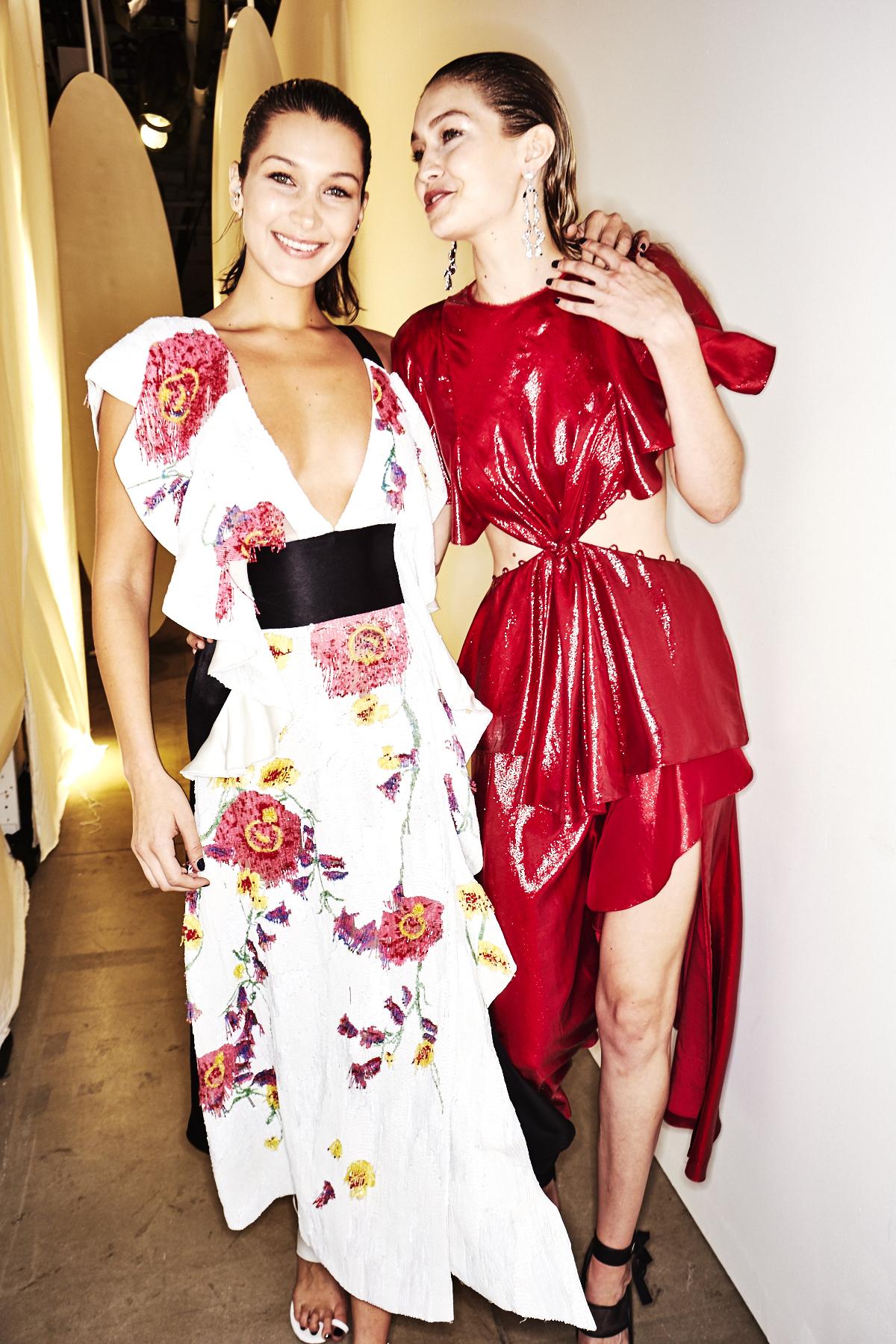 Prabal Gurung SS18 Fashion Show New York Backstage