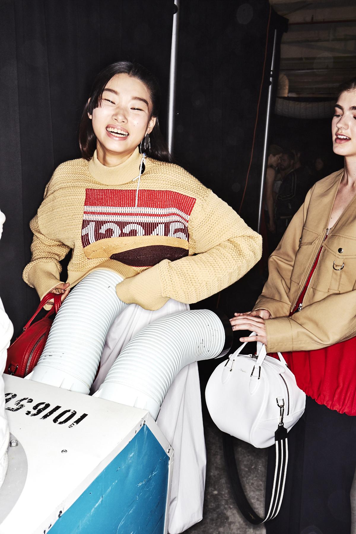 3.1 Phillip Lim SS18 Fashion Show New York Backstage