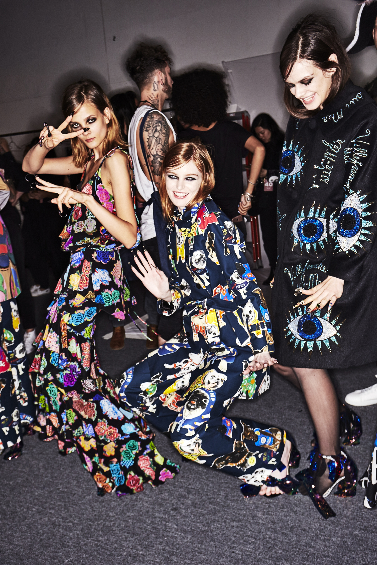 Libertine SS18 Fashion Show New York Backstage