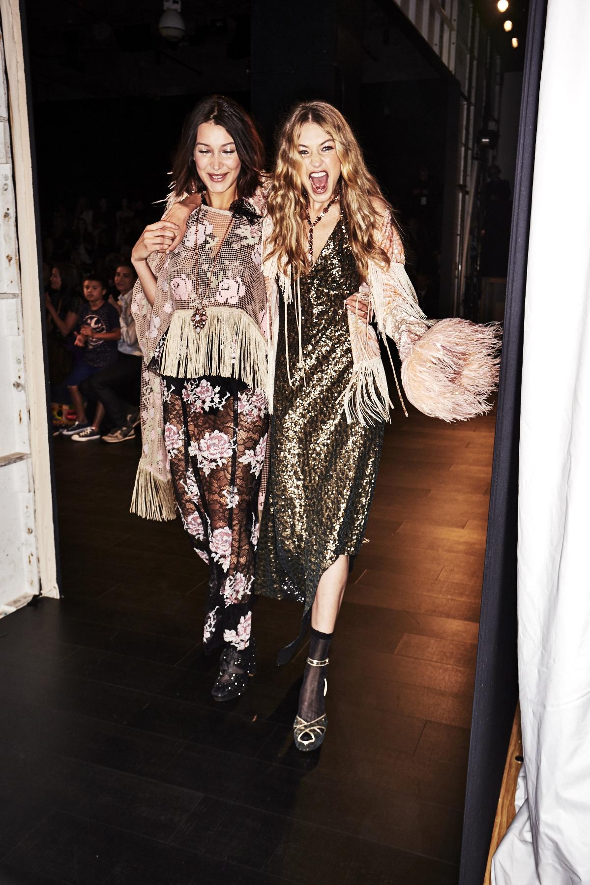 Anna Sui SS18 Fashion Show New York Backstage