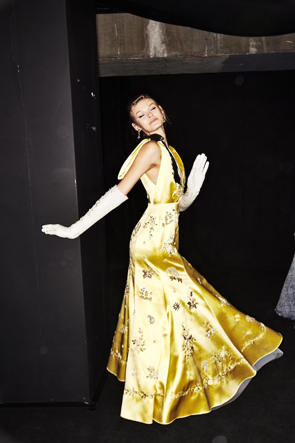 Erdem SS18 London Fashion Show Backstage