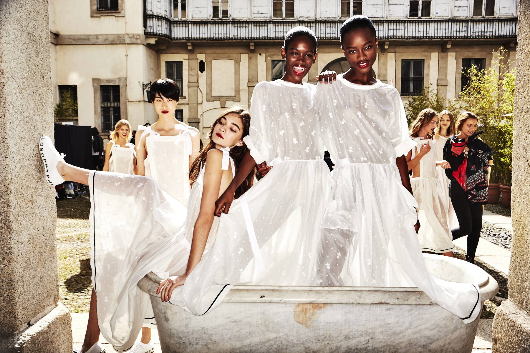 Philosophy Di Lorenzo Serafini SS18 Fashion Show Milan Backstage