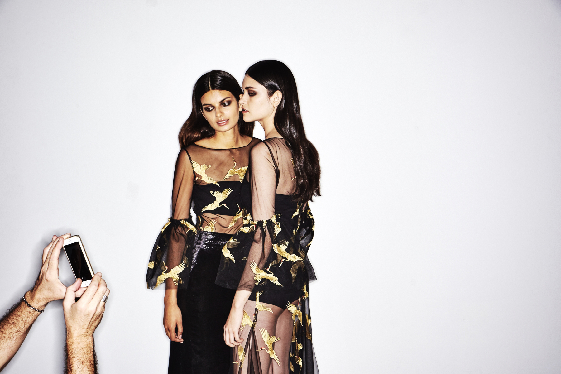 Carla Zampatti AW18 Fashion Show Sydney Backstage