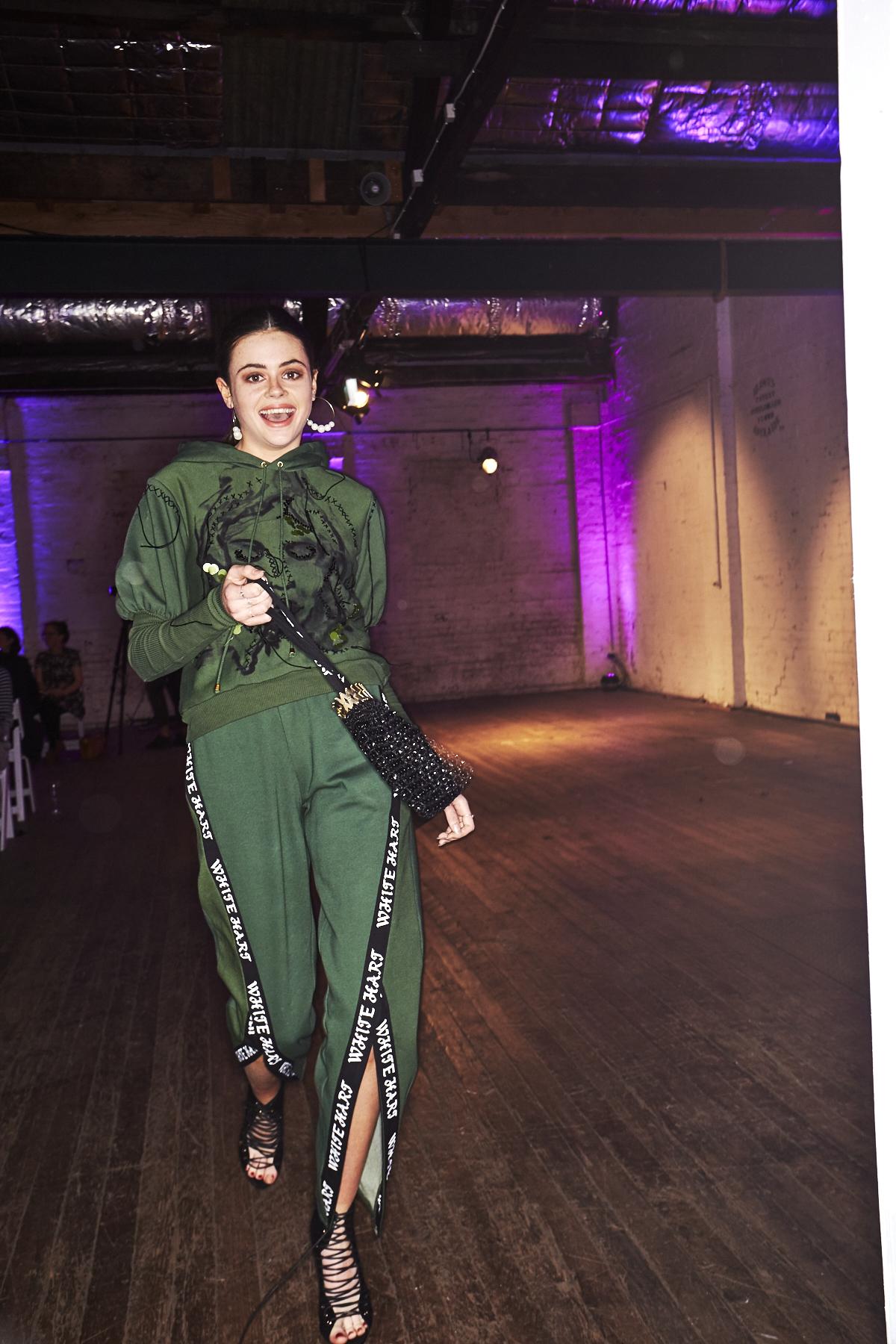 Danielle Soole TAFE 2017 Graduate Fashion show Backstage