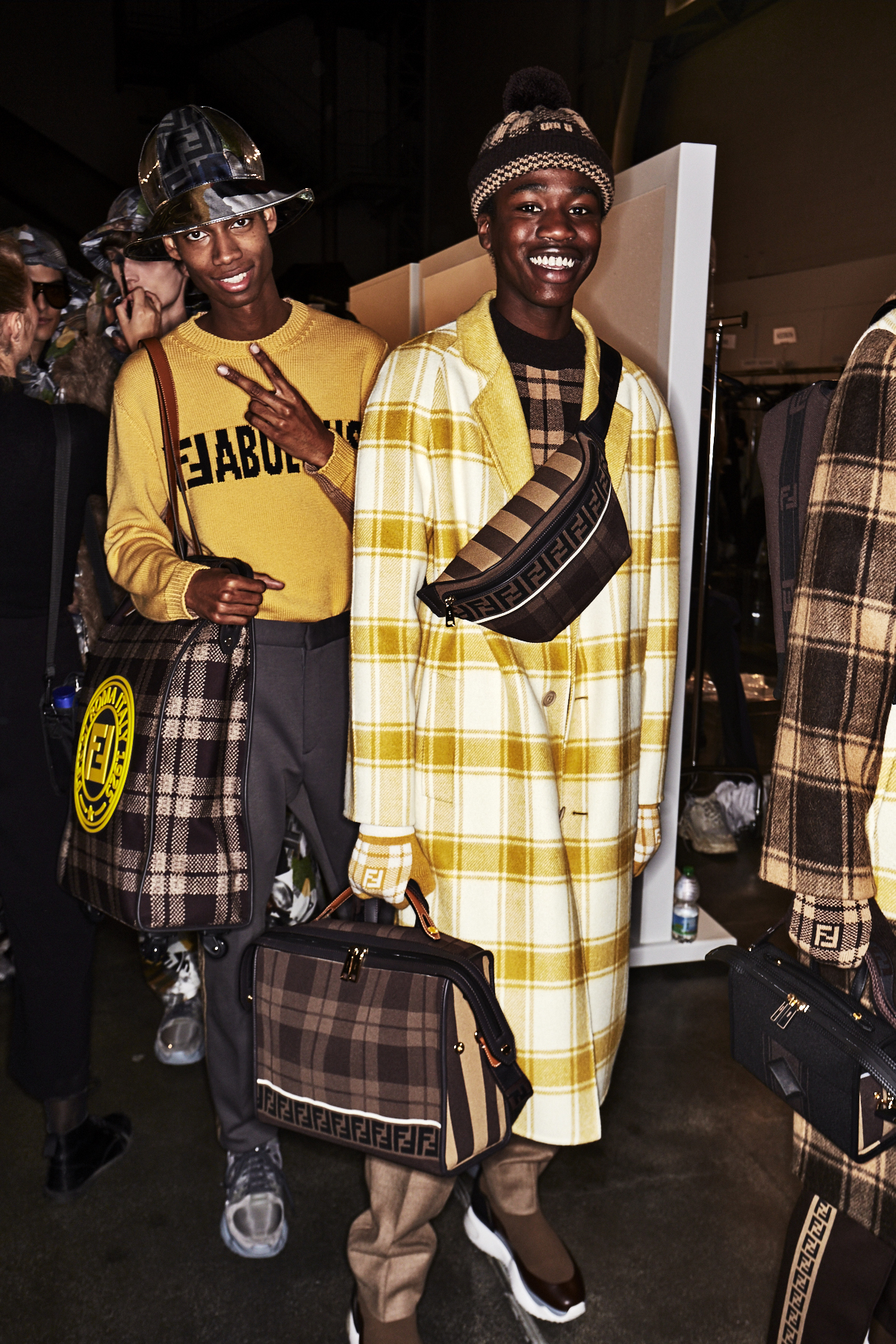 Fendi AW1819 Men Fashion Show Milan Backstage