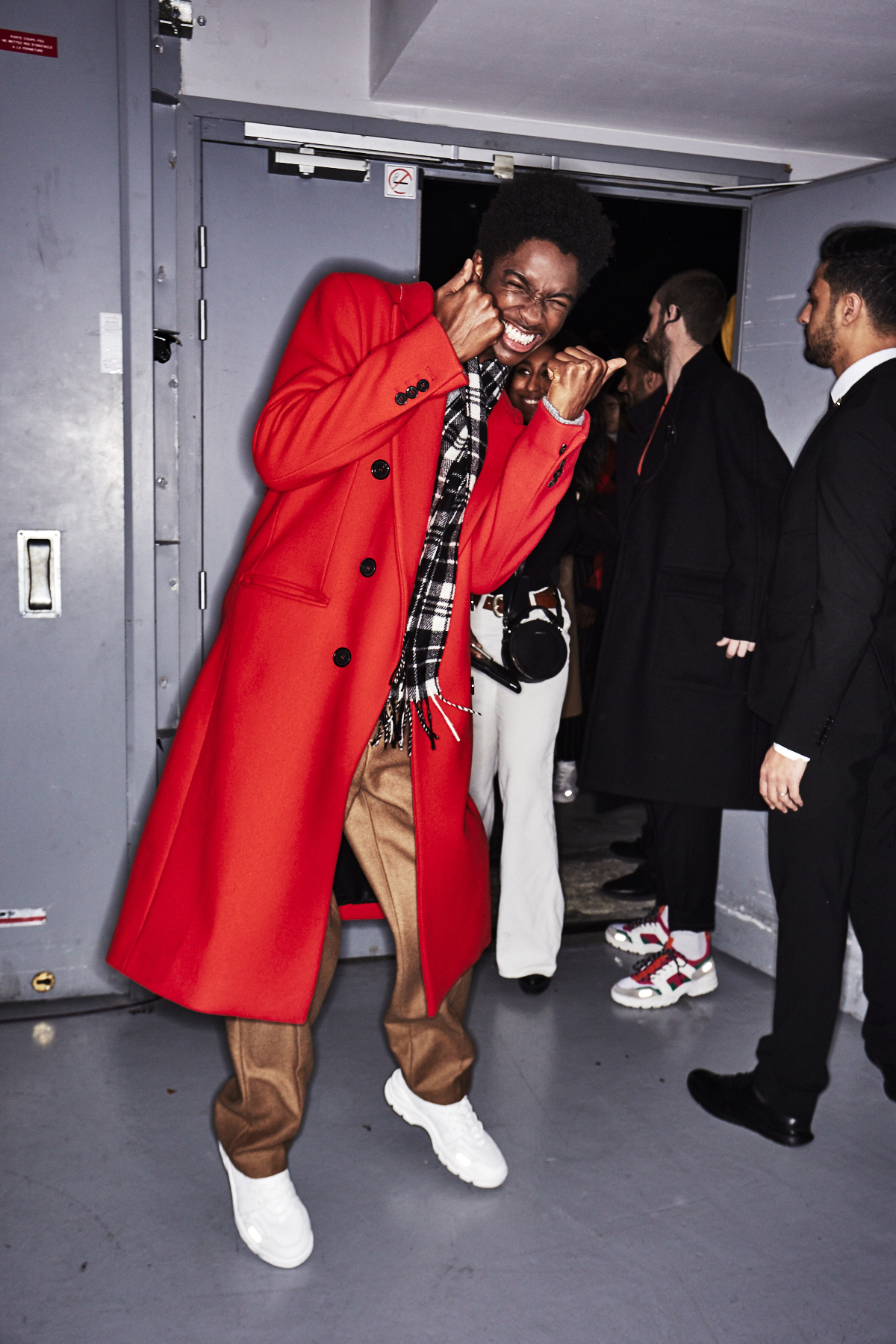 AMI AW1819 Men Fashion Show Paris Backstage