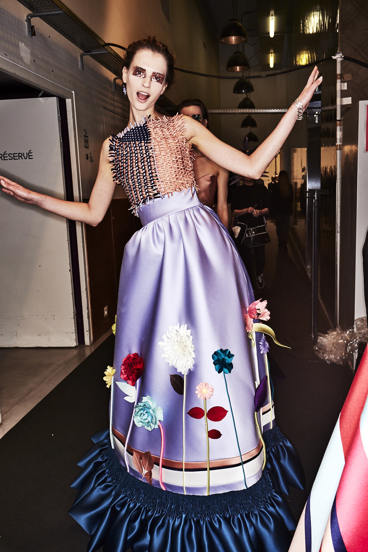 Viktor & Rolf SS18 Haute Couture Collection Fashion Show Paris Backstage