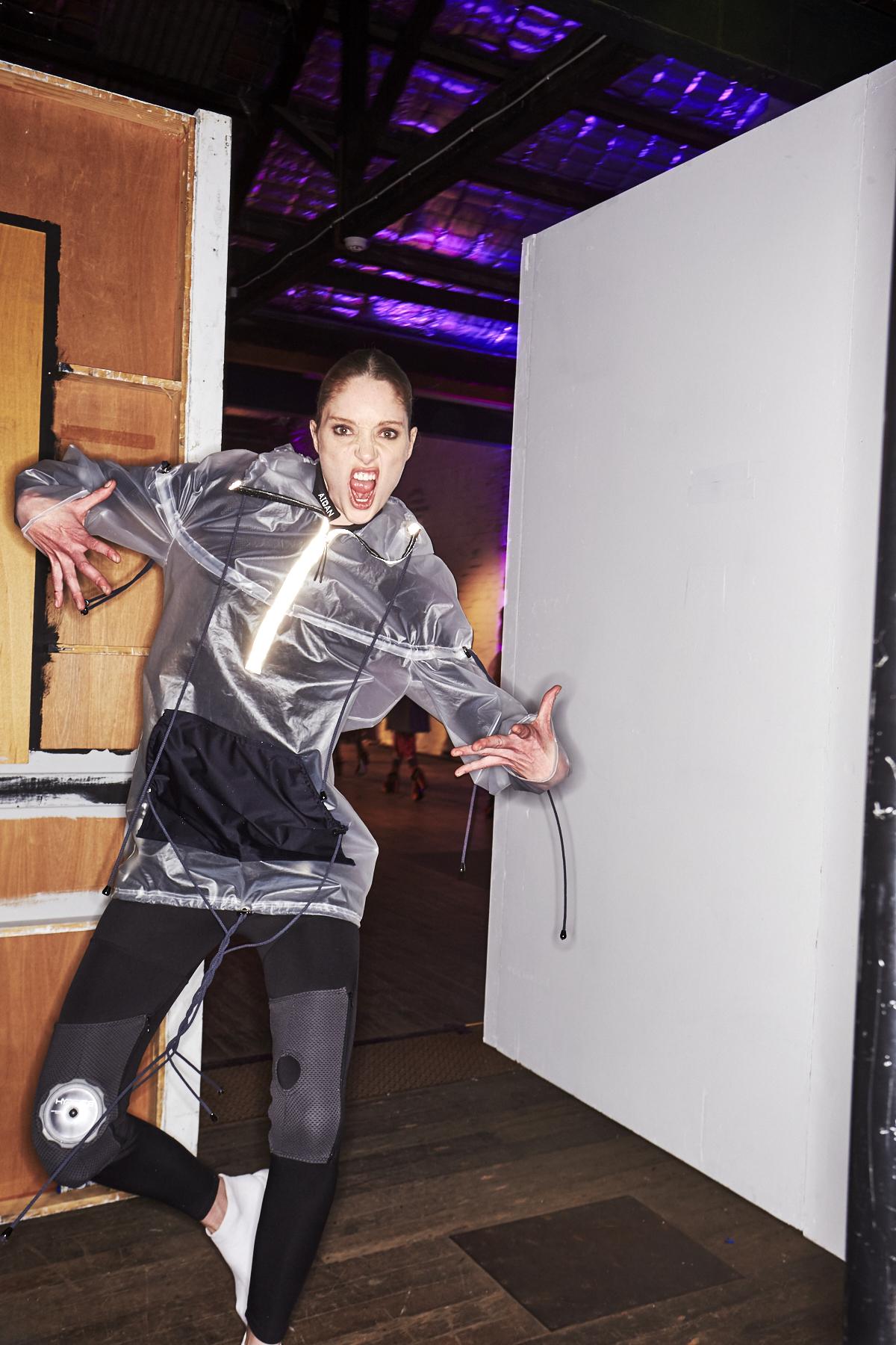 Nadia Toubji TAFE 2017 Graduate Fashion show Backstage