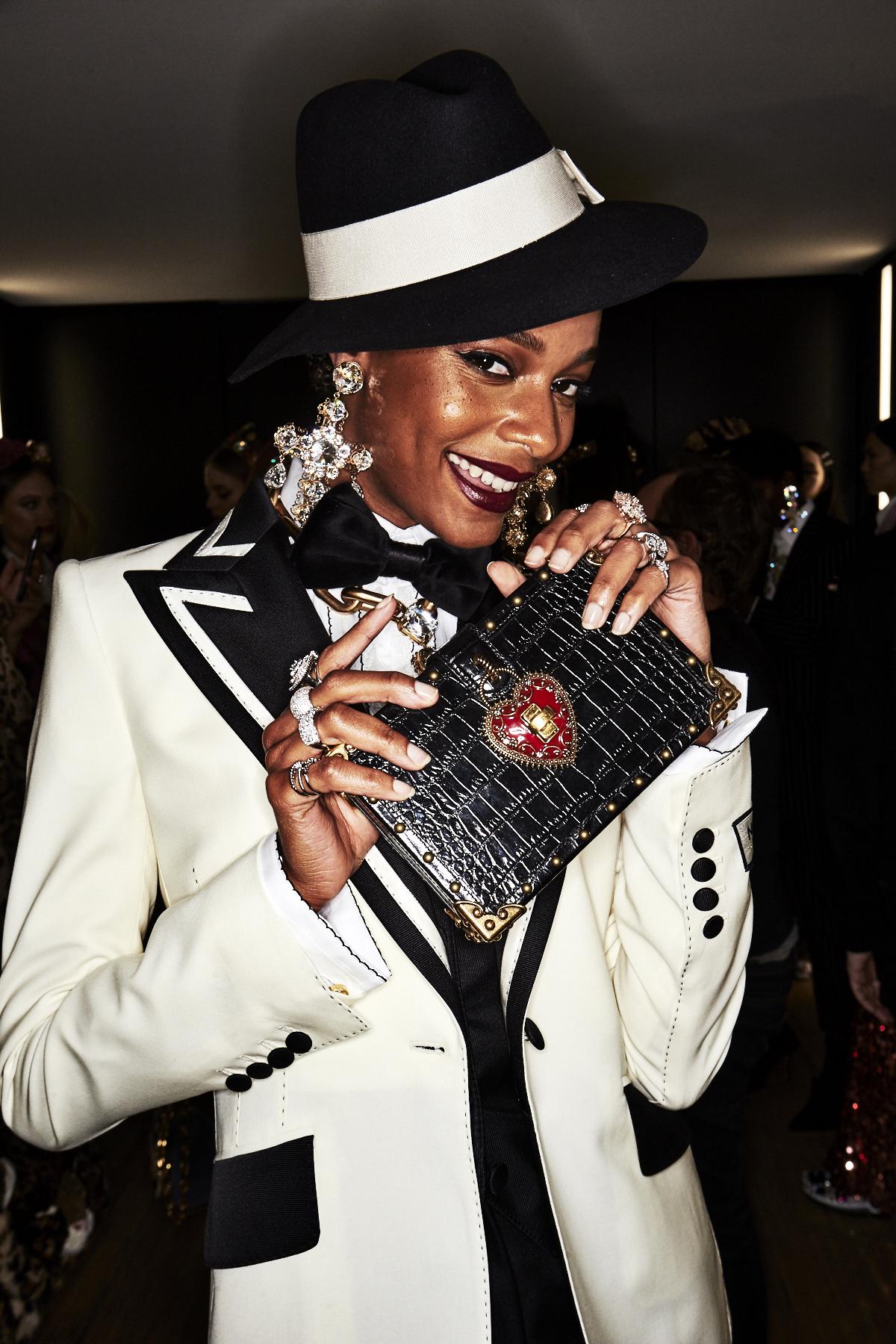 Dolce & Gabbana AW18 Fashion show Backstage Milan Pre-show