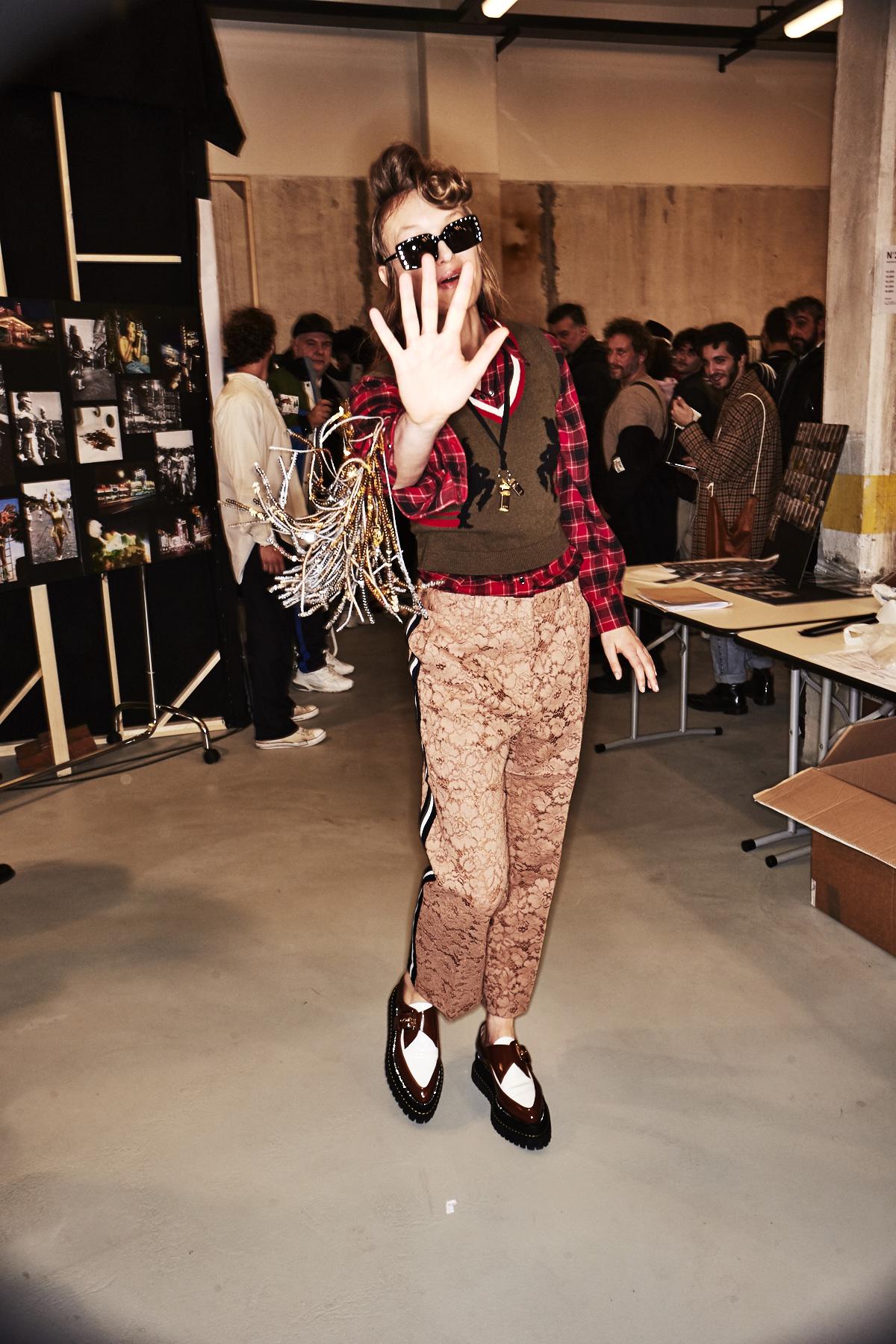 N21 AW18 Fashion Show Milan Backstage