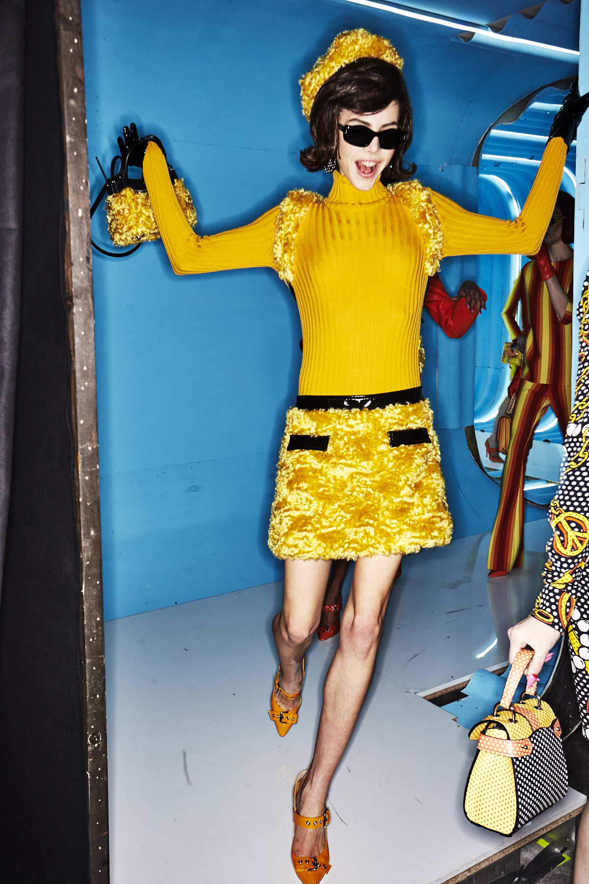 Moschino AW18 Fashion Show Milan Backstage