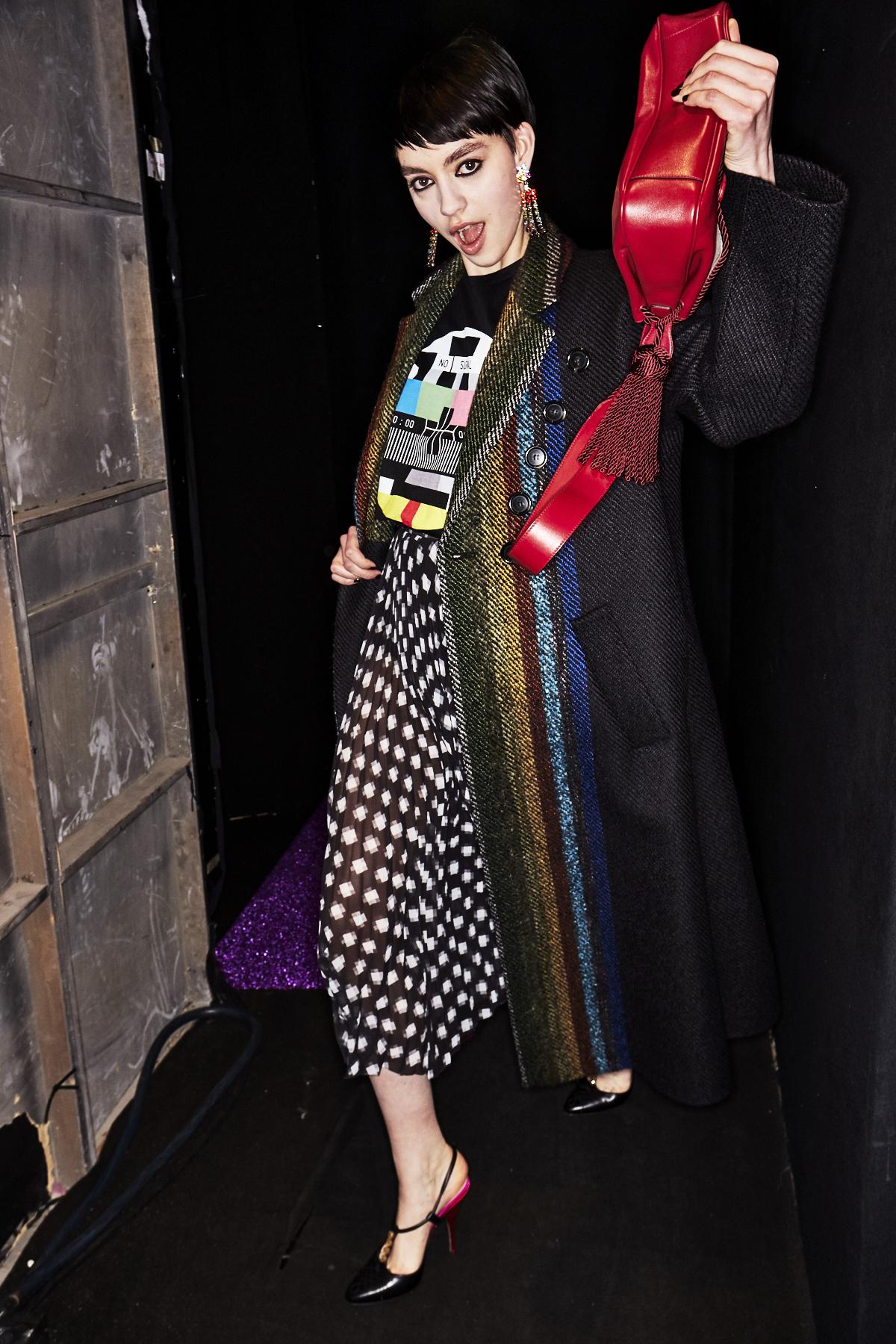 Marco De Vincenzo AW18 Fashion Show Milan Backstage