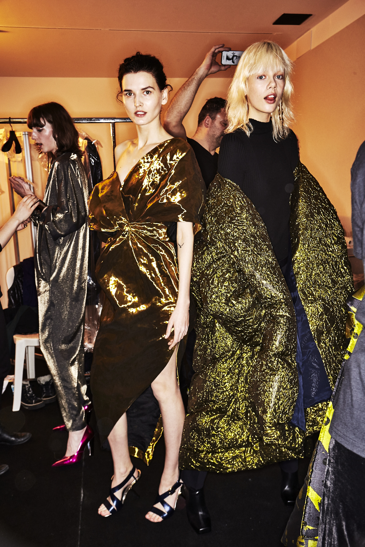 Poiret AW18 Fashion Show Paris Backstage