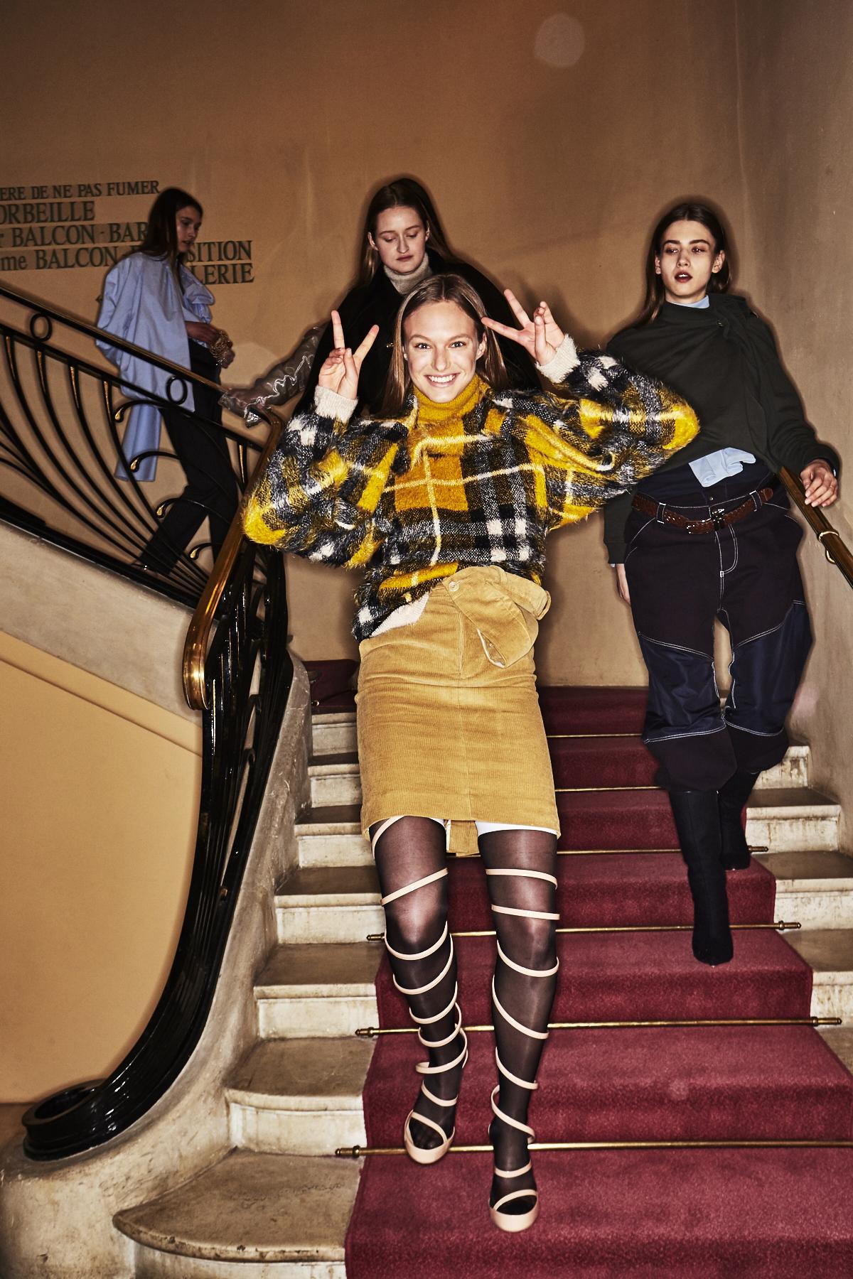 Y/Project by Glenn Martens AW18 Fashion Show Paris Backstage