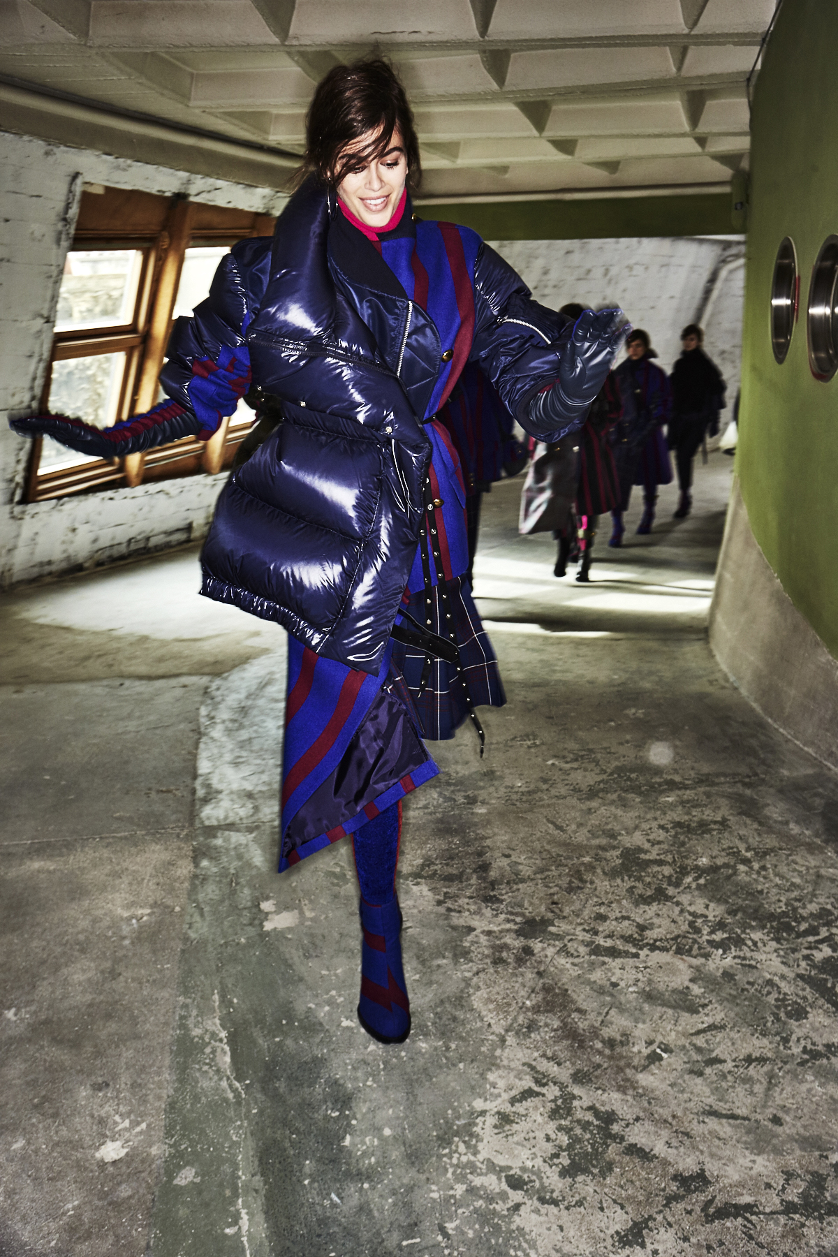 Sacai AW18 Fashion Show Paris Backstage
