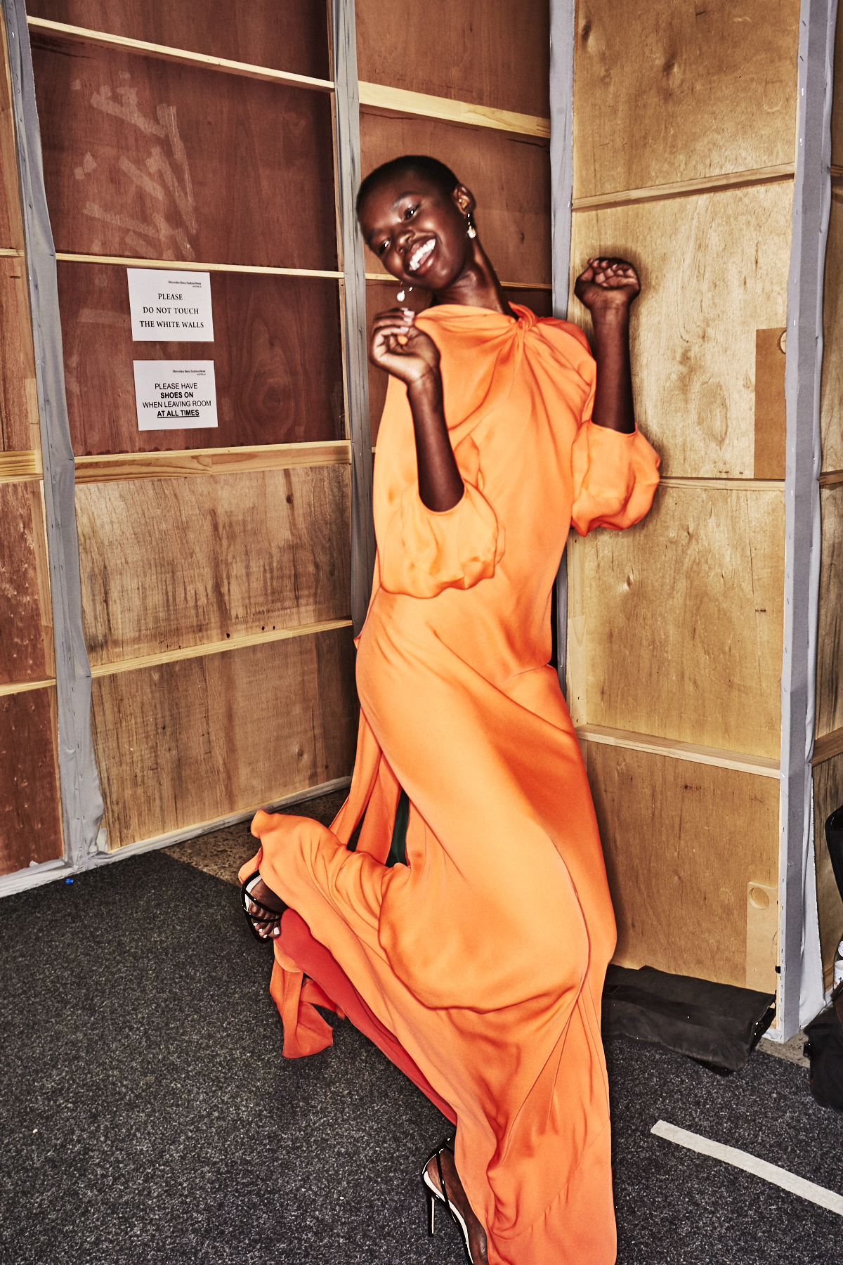 Bianca Spender Resort 2019 Fashion Show Sydney Backstage