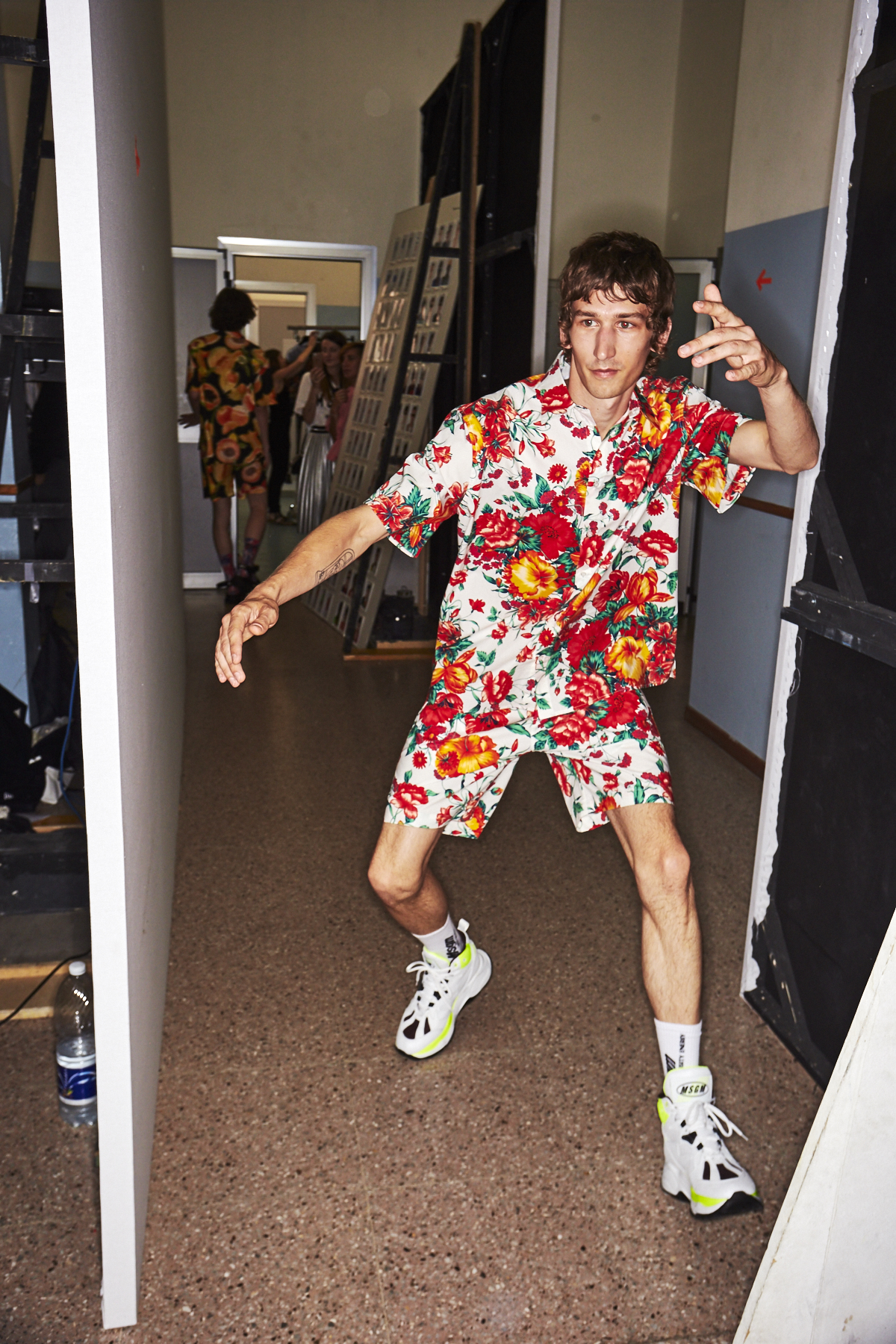 MSGM SS19 Men Fashion Show Milan Backstage
