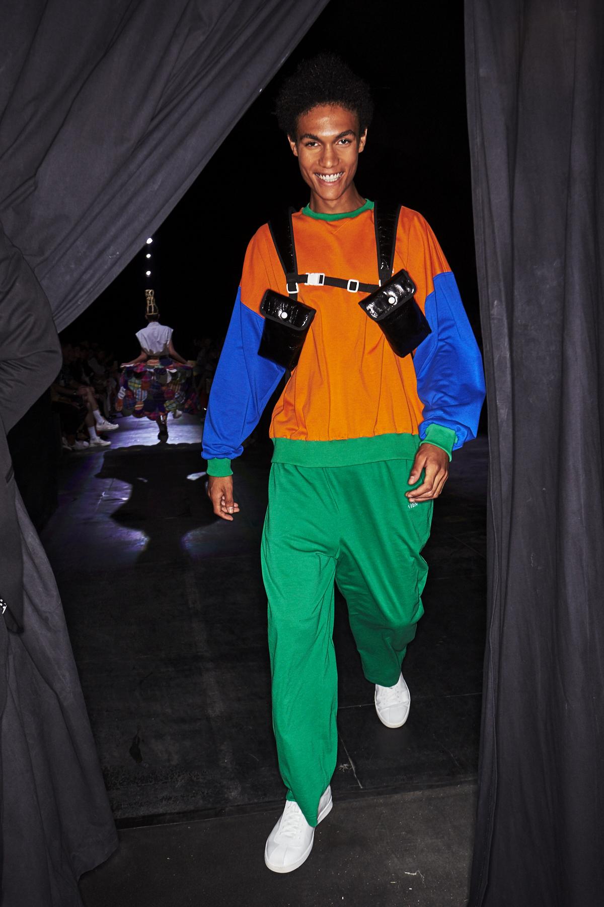 Vien SS19 Men/Woman Fashion Show Milan Backstage