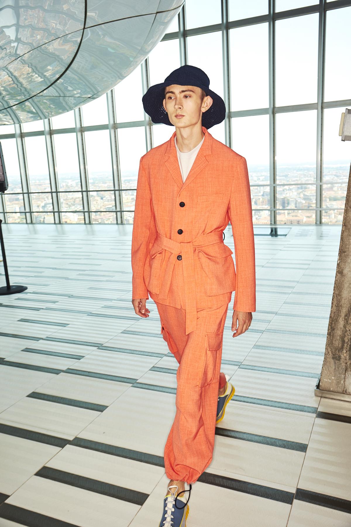 Sunnei Men/Woman Fashion Show Milan Backstage