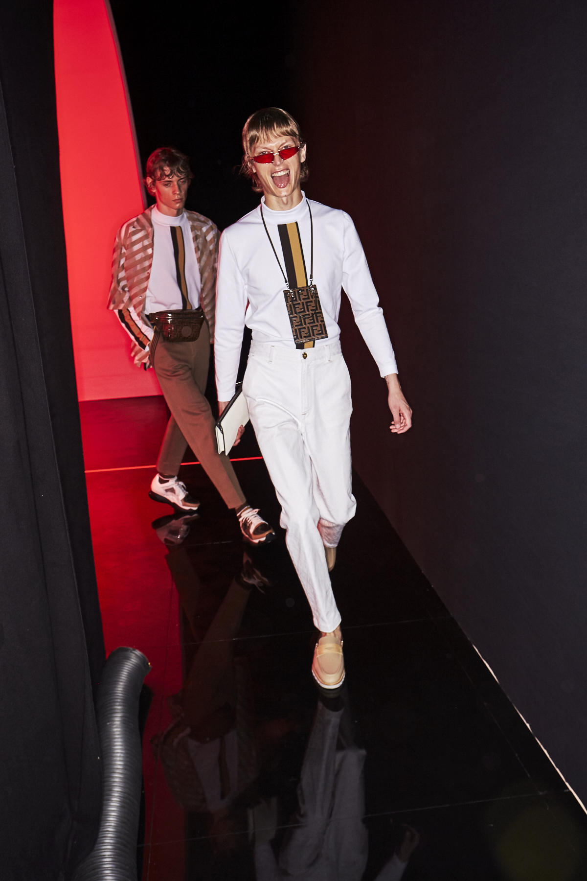 Fendi SS19 Men Fashion Show Milan Backstage