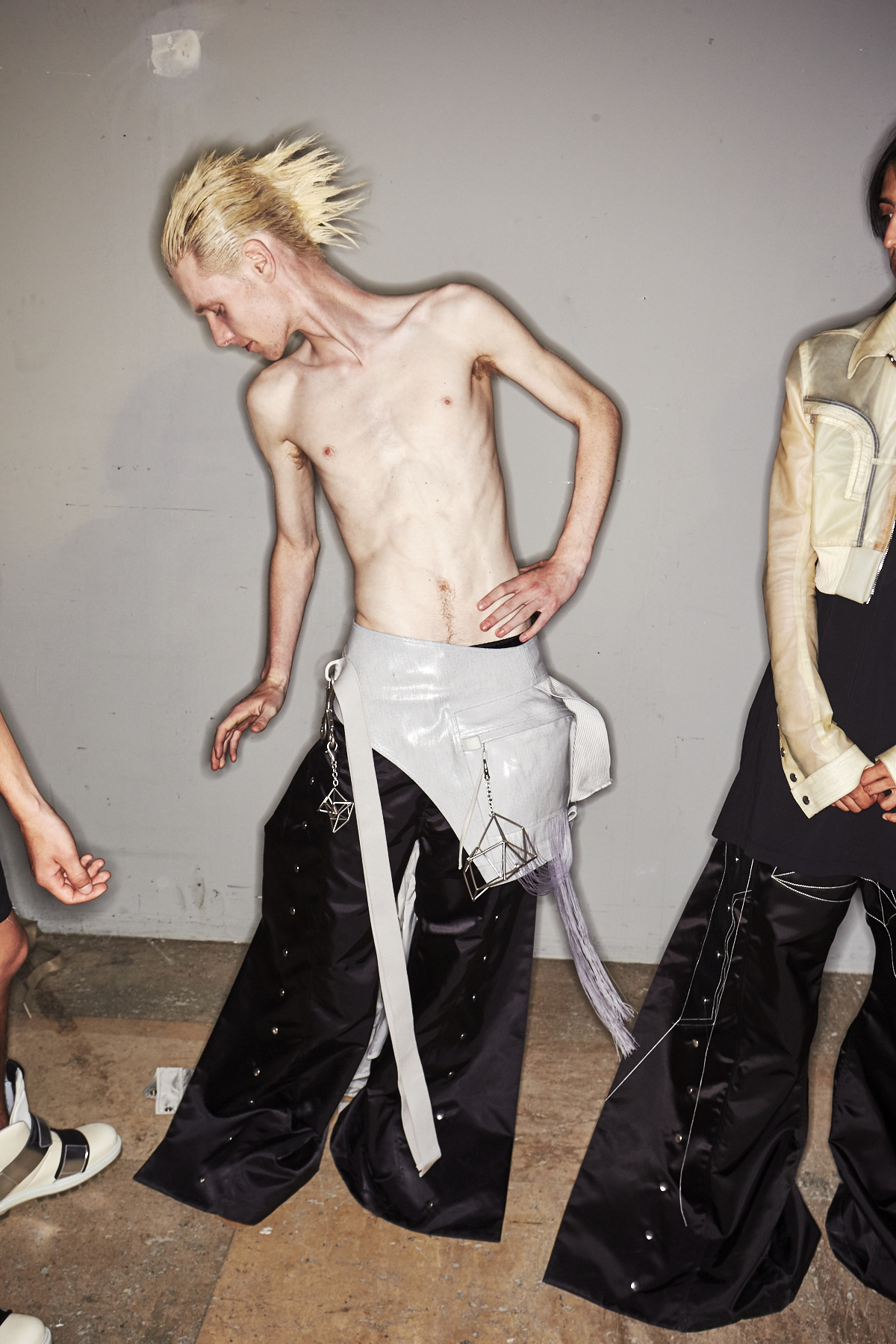 Rick Owens SS19 Men Fashion Show Paris Backstage