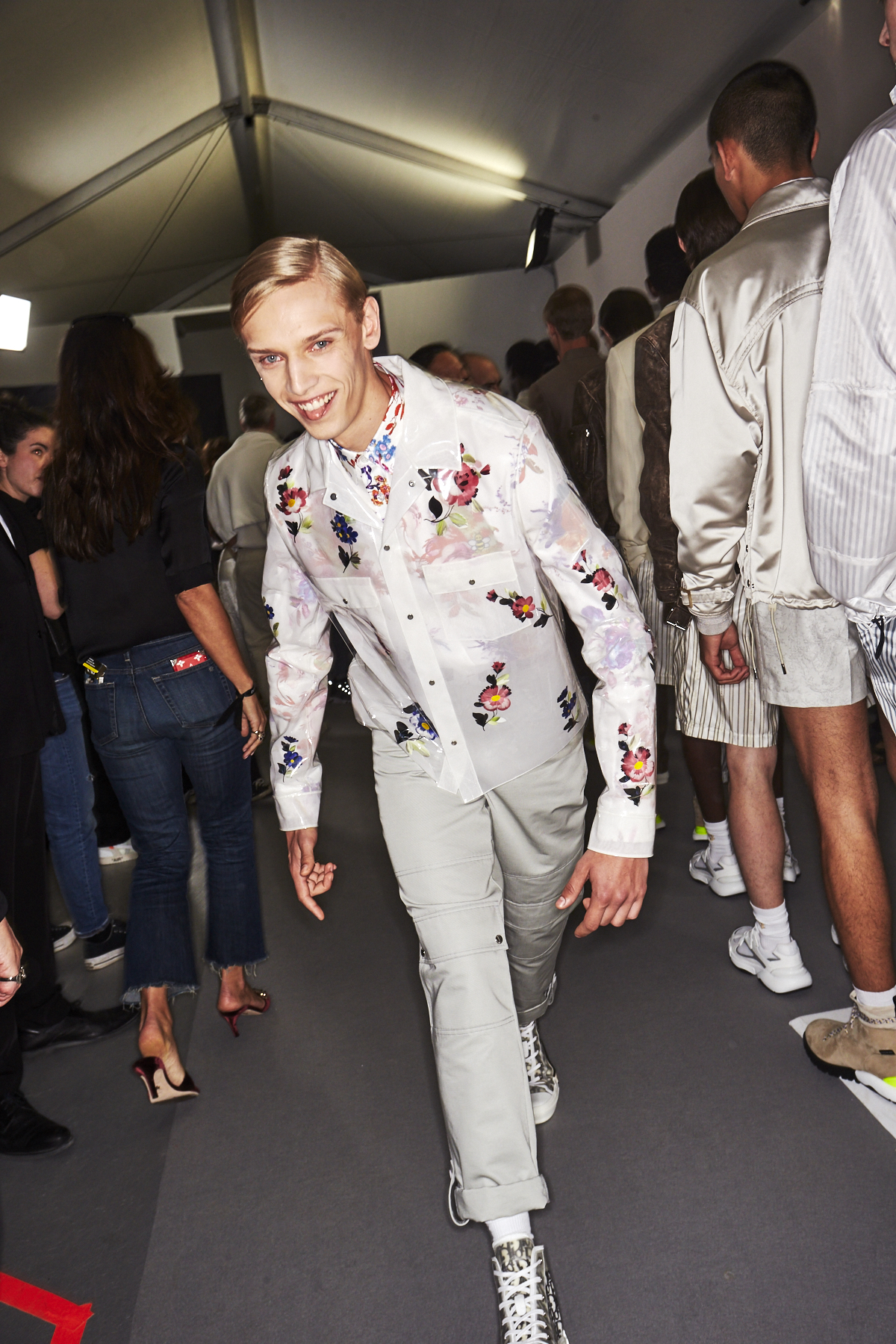 Dior SS19 Men Fashion show by Kim Jones Paris Backstage