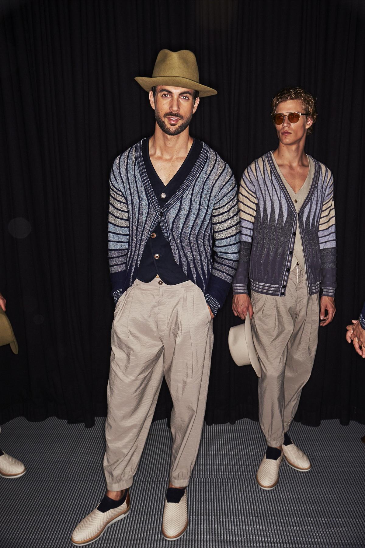 Sonny Vandevelde Giorgio Armani Ss19 Men Fashion Show