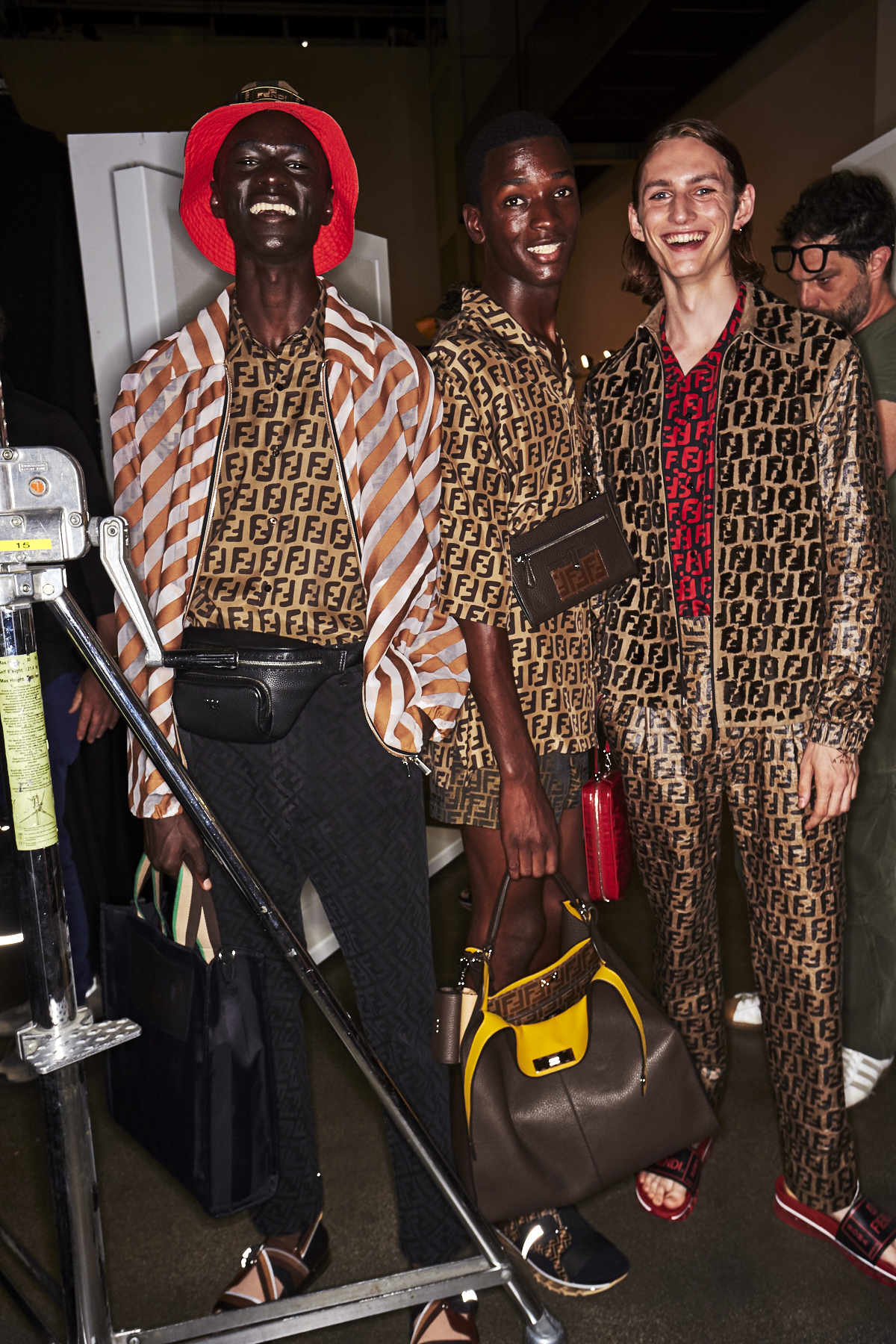 c64fccd5fddb Sonny Vandevelde - Fendi SS19 Men Fashion Show Milan Backstage