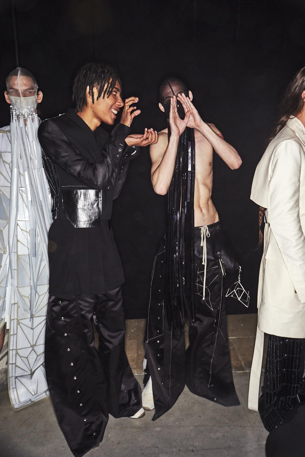 Sonny Vandevelde Rick Owens Ss19 Men Fashion Show Paris