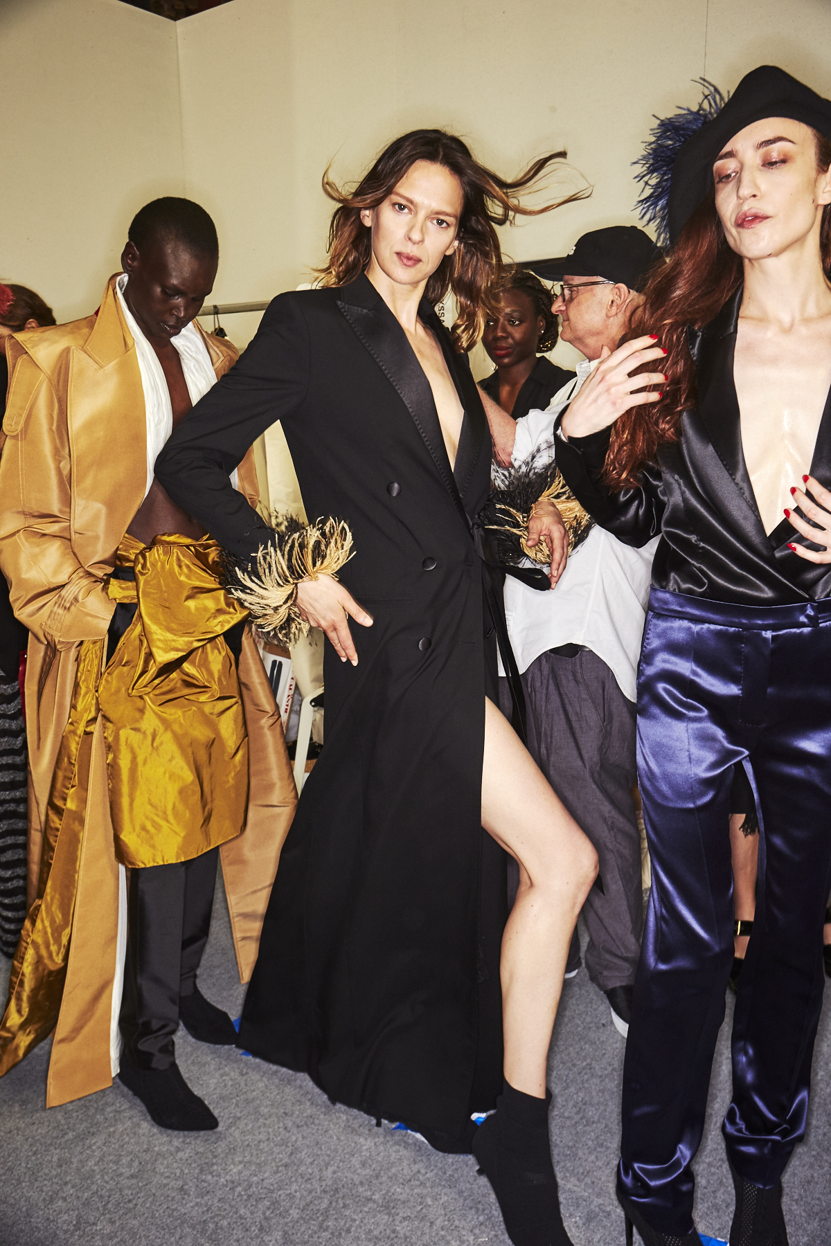 Sonia Rykiel AW1819 Haute Couture Fashion Show Paris Backstage
