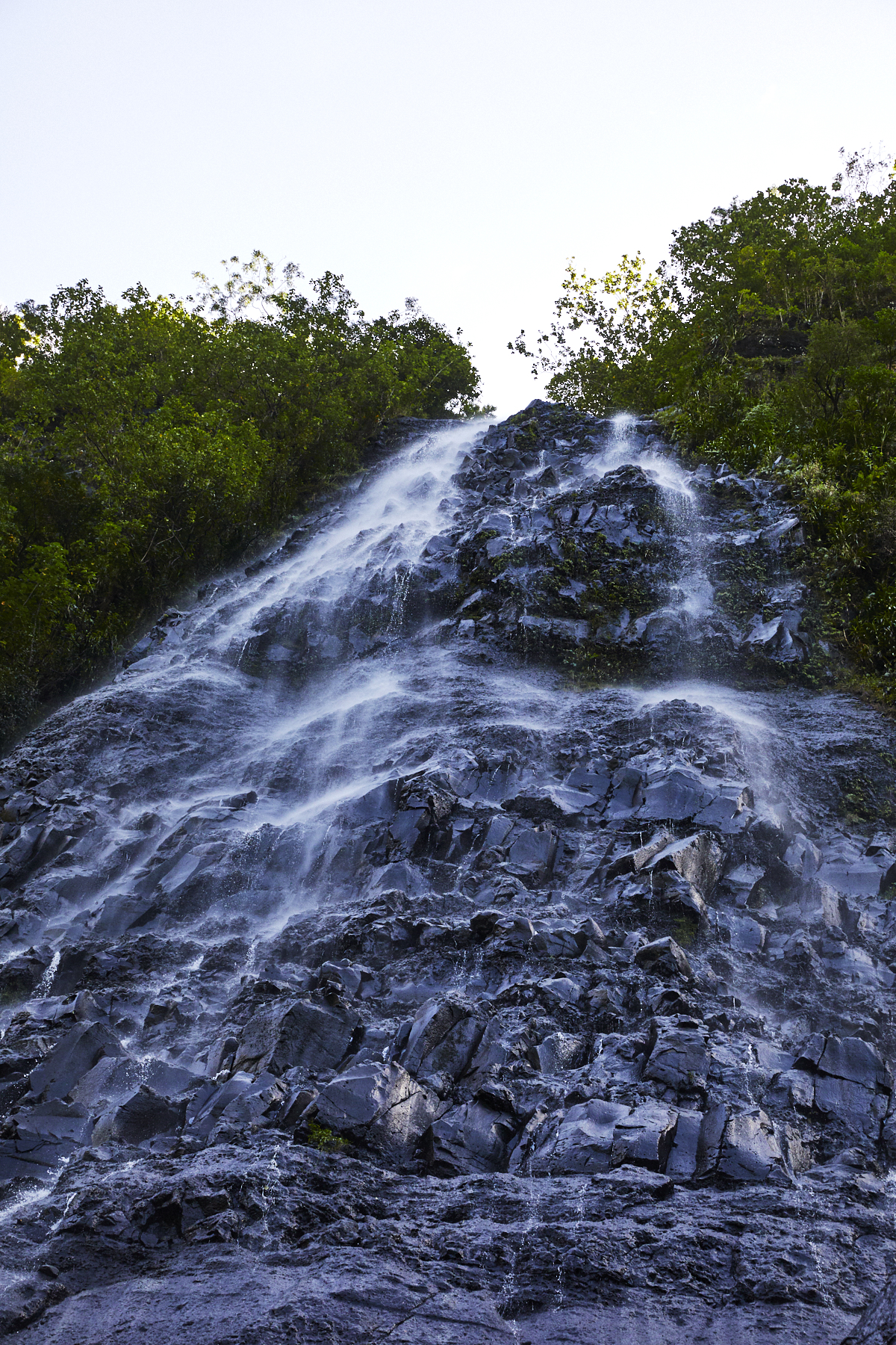 Mo'orea Waterfall