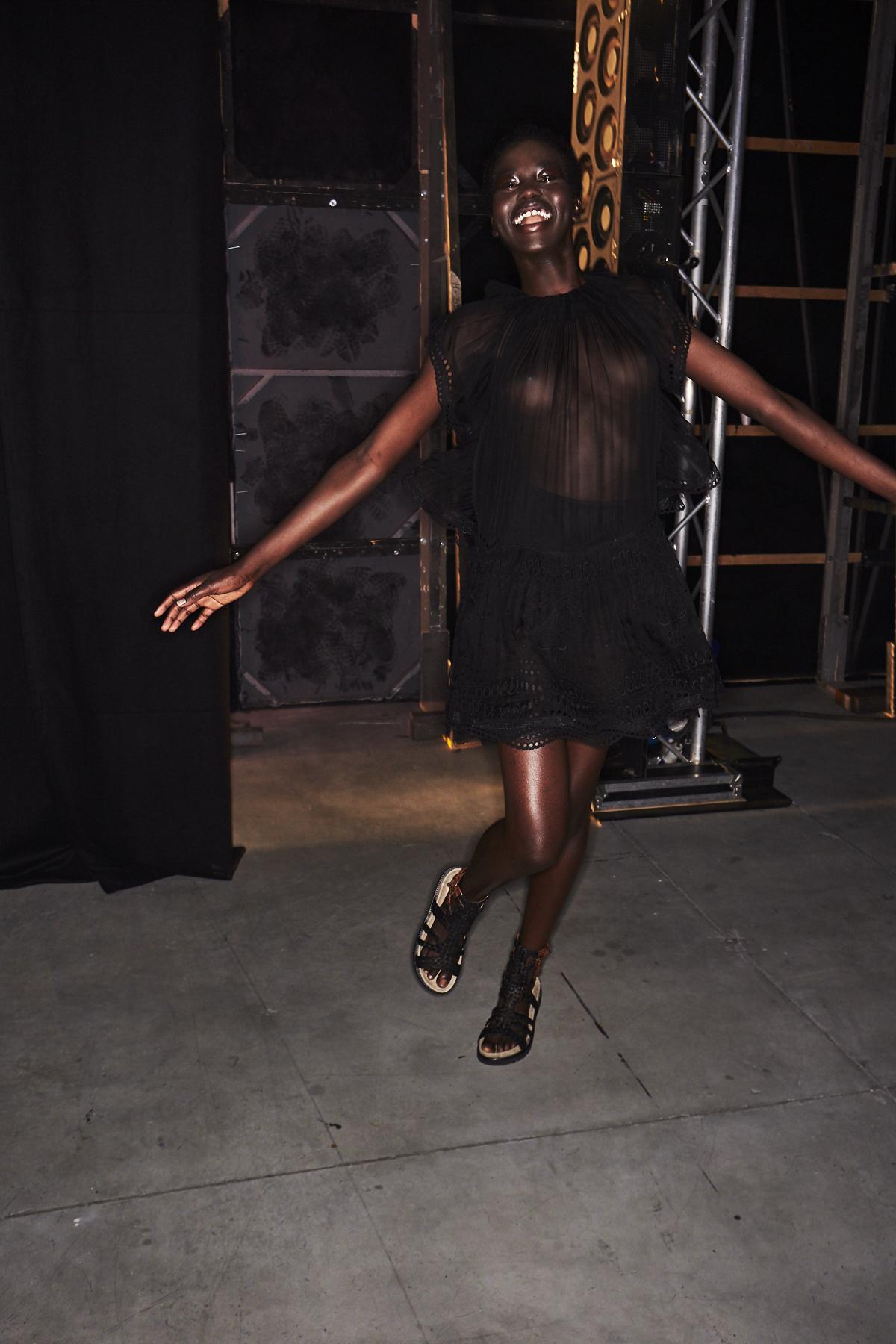 Alberta Ferretti SS19 Fashion Show Milan Backstage