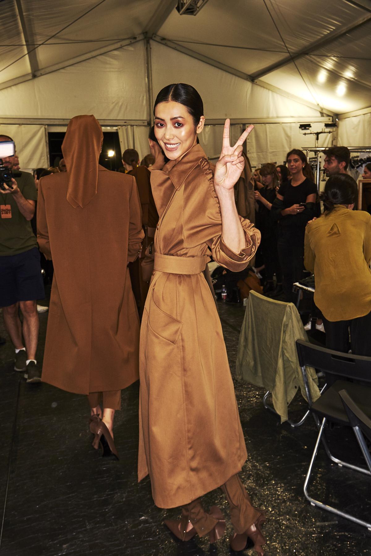 Max Mara SS19 Fashion Show Milan Backstage