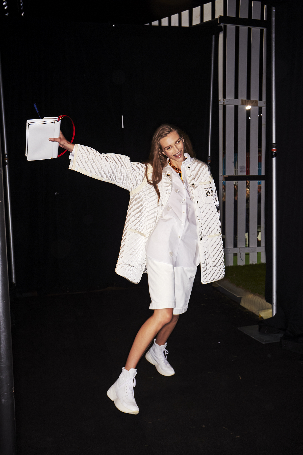 Escada SS19 Fashion Show New York Backstage