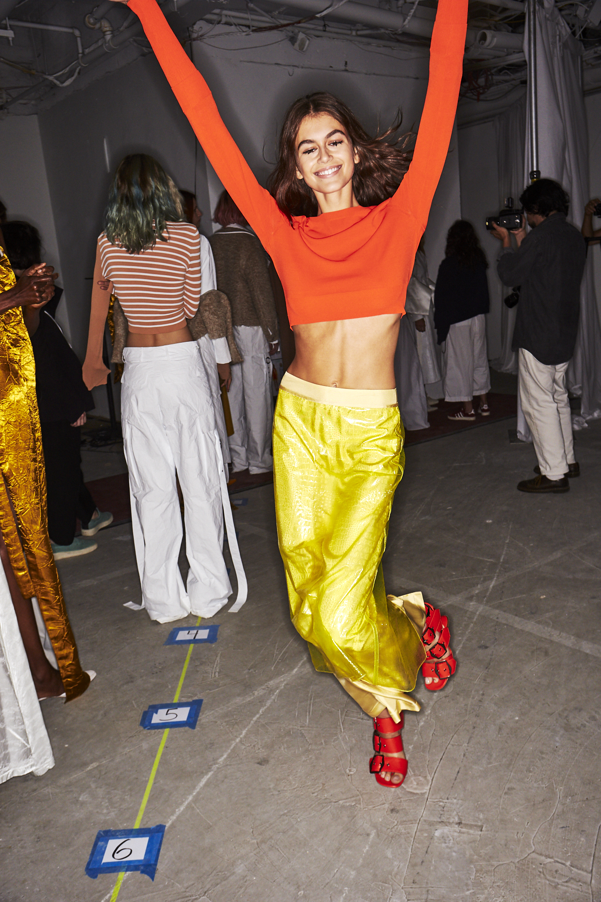 Sies Marjan SS19 Fashion Show New York Backstage