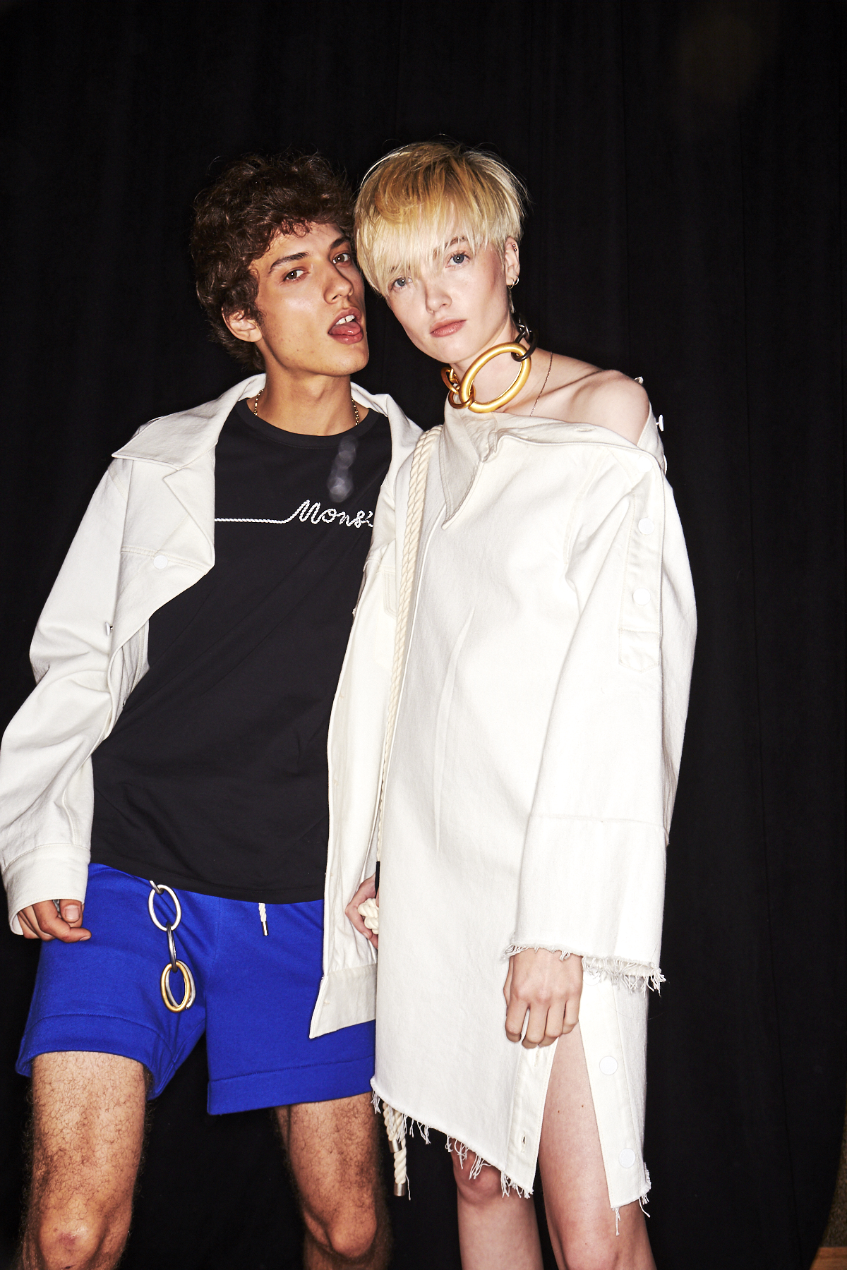 Monse SS19 Fashion Show New York Backstage