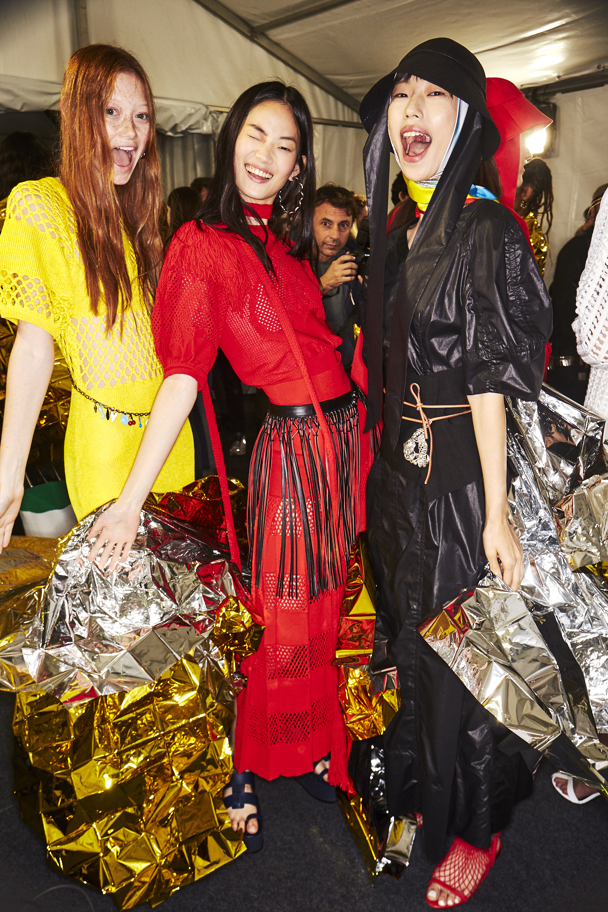 Sonia Rykiel SS19 Fashion Show Paris Backstage