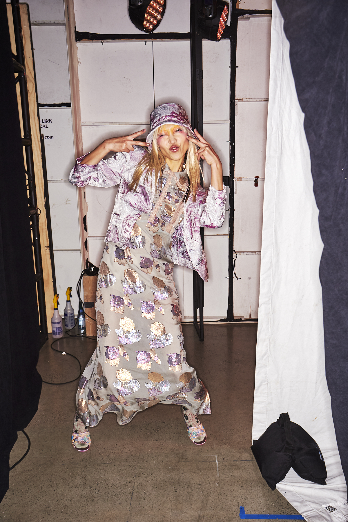 Anna Sui SS19 Fashion Show New York Backstage