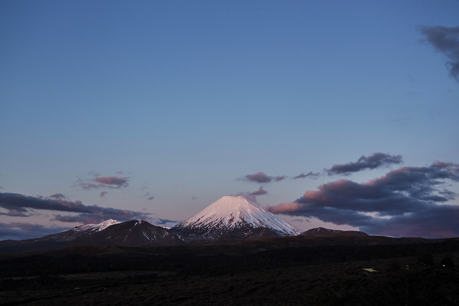 After visiting Glow Worm caves it's of to Tongariro, North Island, New Zealand