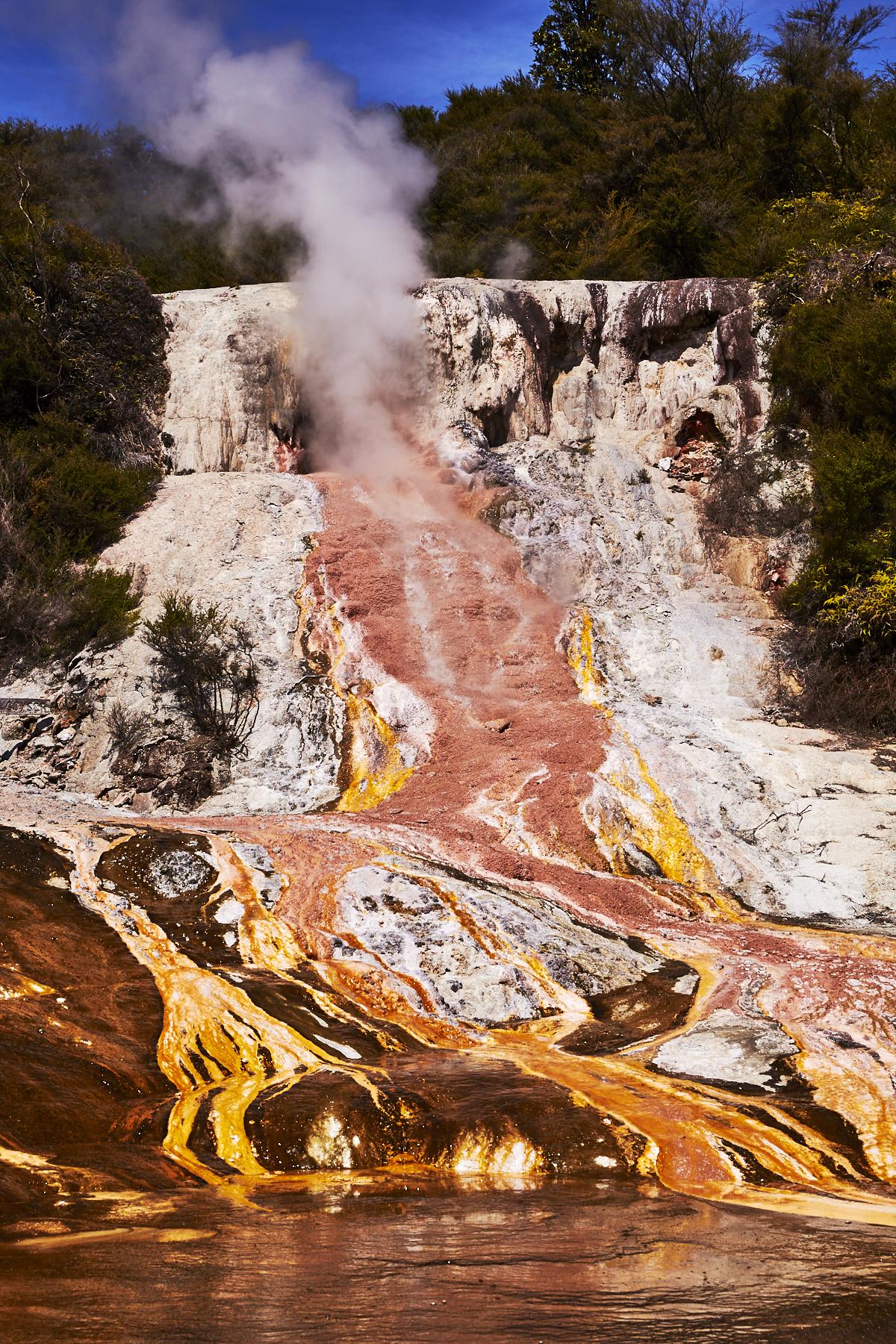 Orakei Korako Geothermal Park, Taupo, New Zealand