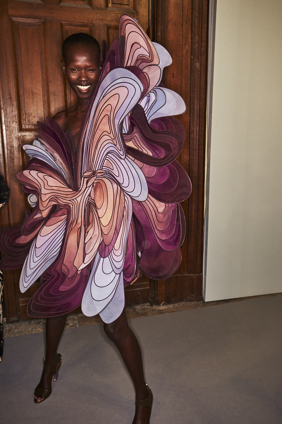 Iris Van Herpen SS19 Haute Couture Fashion Show Paris Backstage
